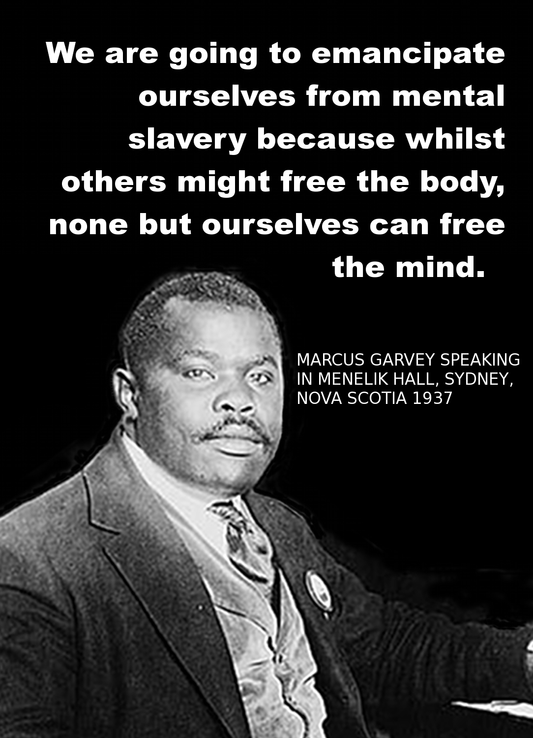 Quotes on the importance of history - Marcus Garvey On The Importance History