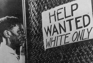 White Only Help Wanted