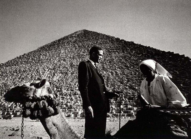 Malcolm X AT Giza