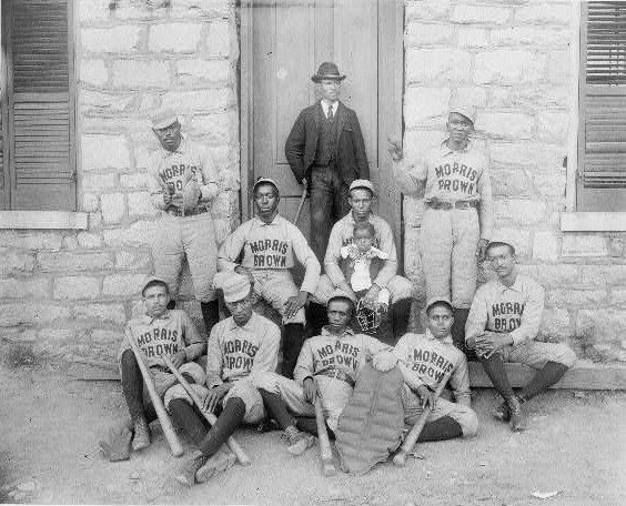 Morris Brown College Baseball-Players 1900