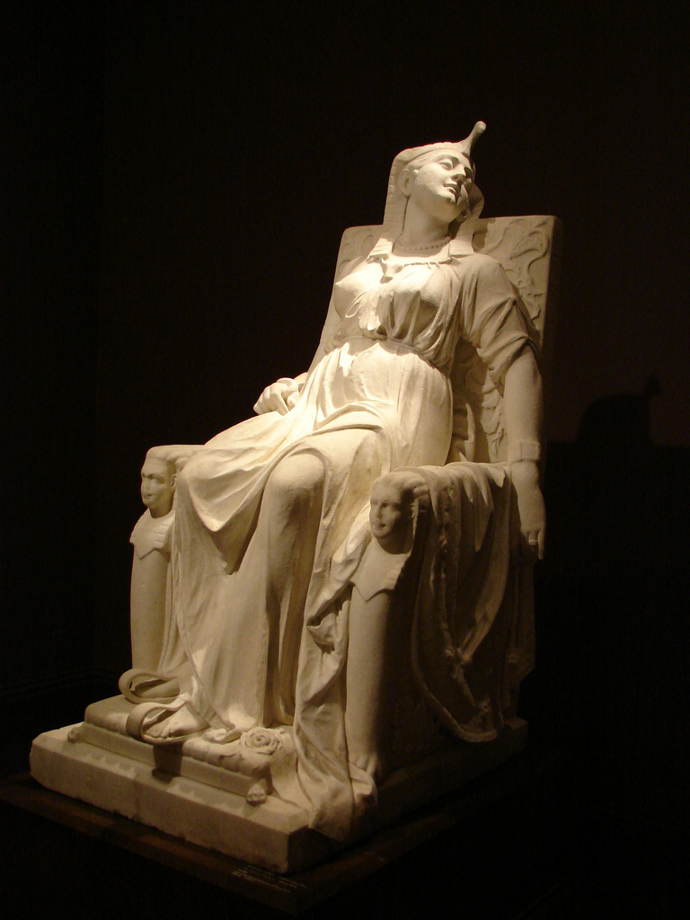 Edmonia Lewis The Death Of Cleopatra