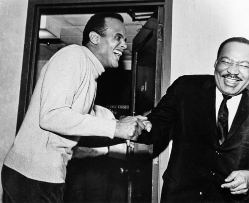 Harry Belafonte and MLK