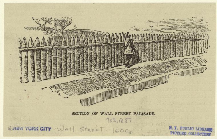 Wall Street 1600s
