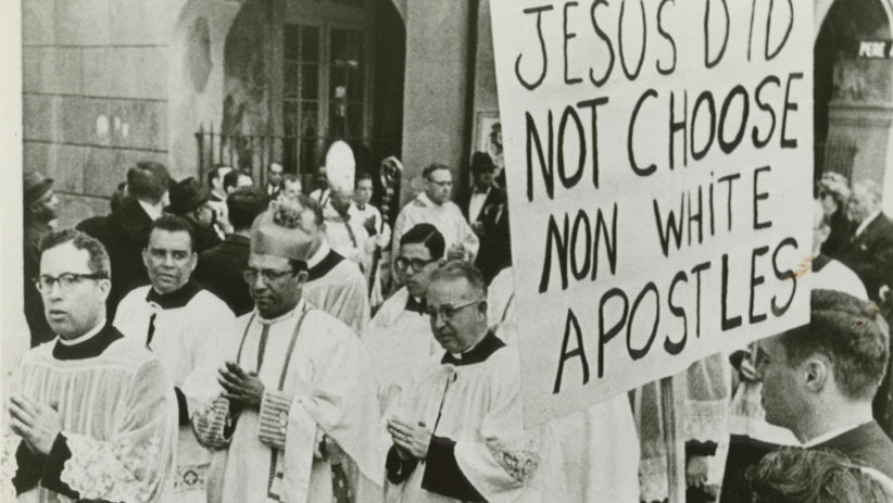 Catholics Protesting