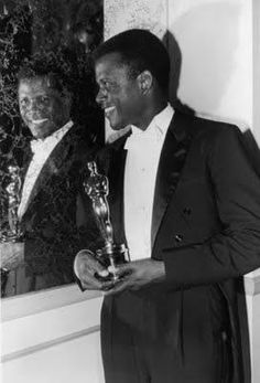 Sydney Poitier and Oscar