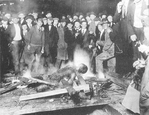 Public Burning