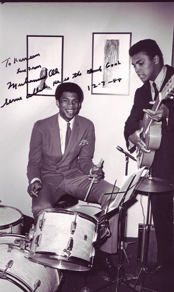 Kareem Abdul Jabbar and Muhammad Ali