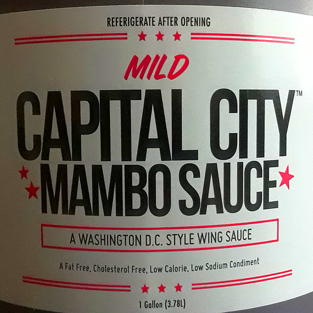 Mild Capital City Mambo Sauce