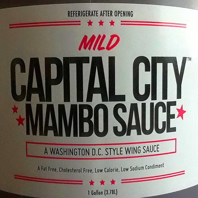 Mild Capital City Mambo Sauce