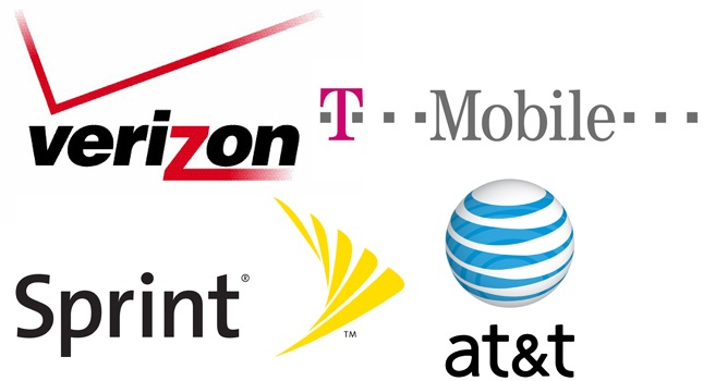 Four Cellphone Companies