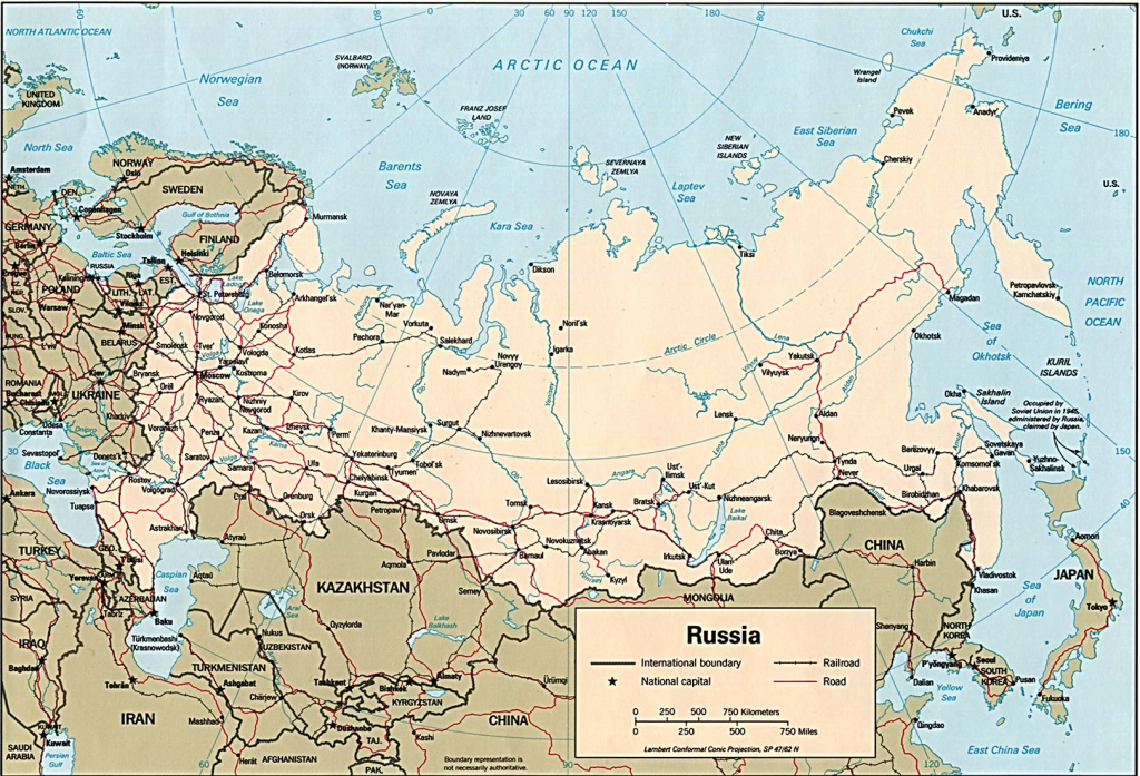 Russia (Map)