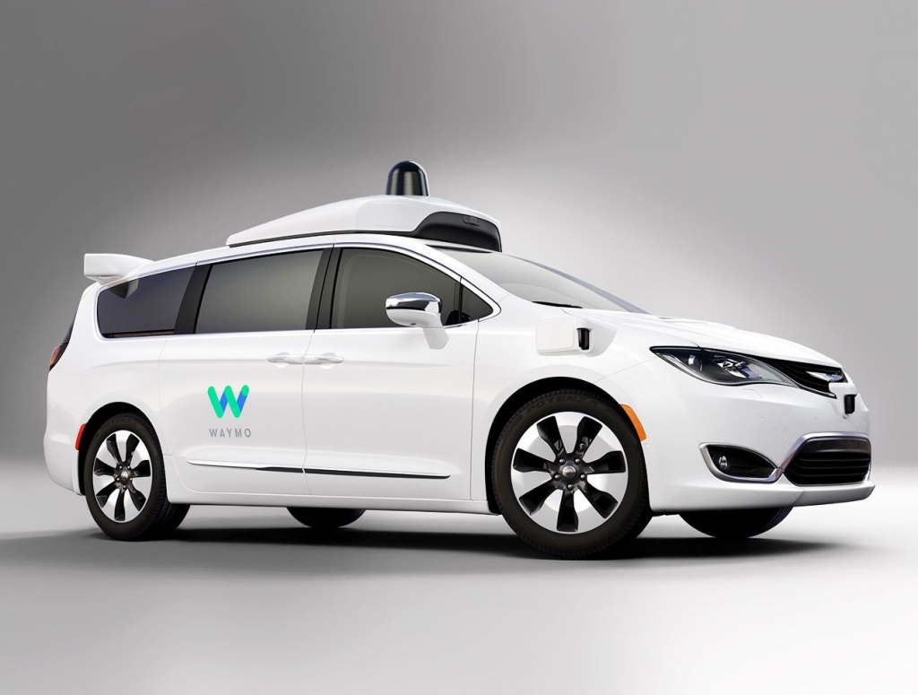 Waymo Wireless Car